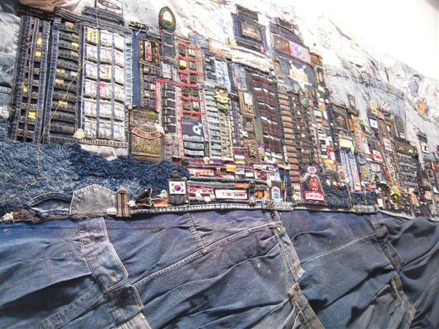 Art quilt de tejano de Corea, ARCO Madrid 2011