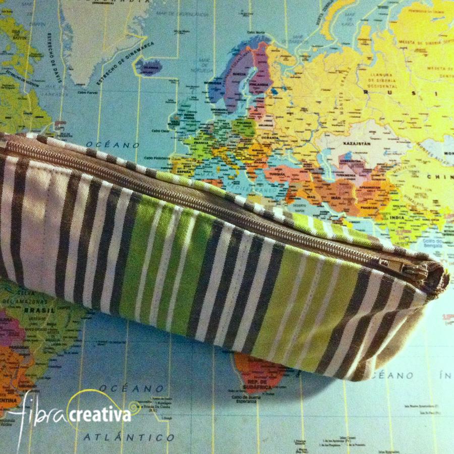 estuche escolar en tela tutorial costura DIY