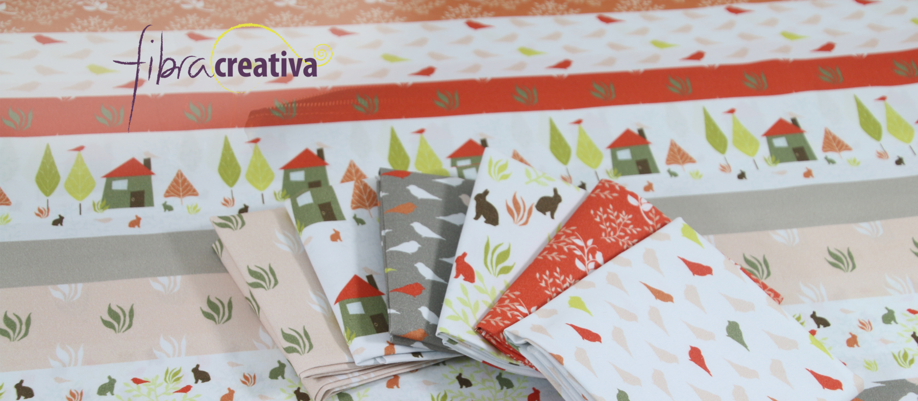 telas para patchwork de Fiibra Creativa