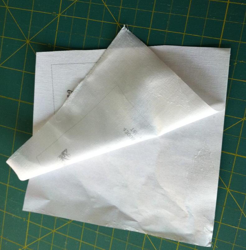 Impresión sobre tela de etiqueta de quilt