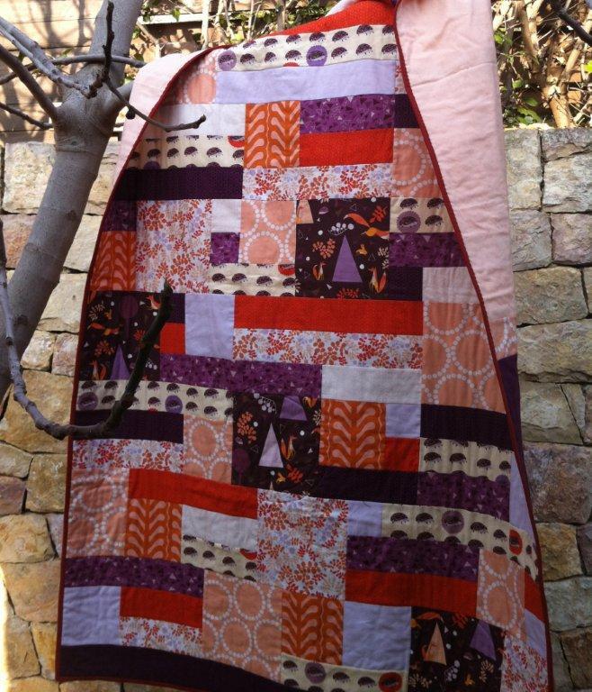 patrón de patchwork contemporáneo