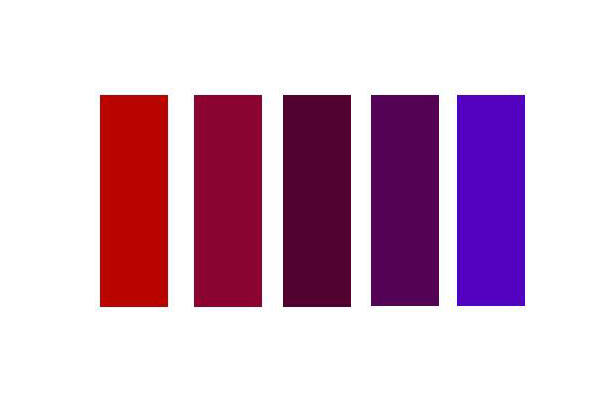 colores adyacentes
