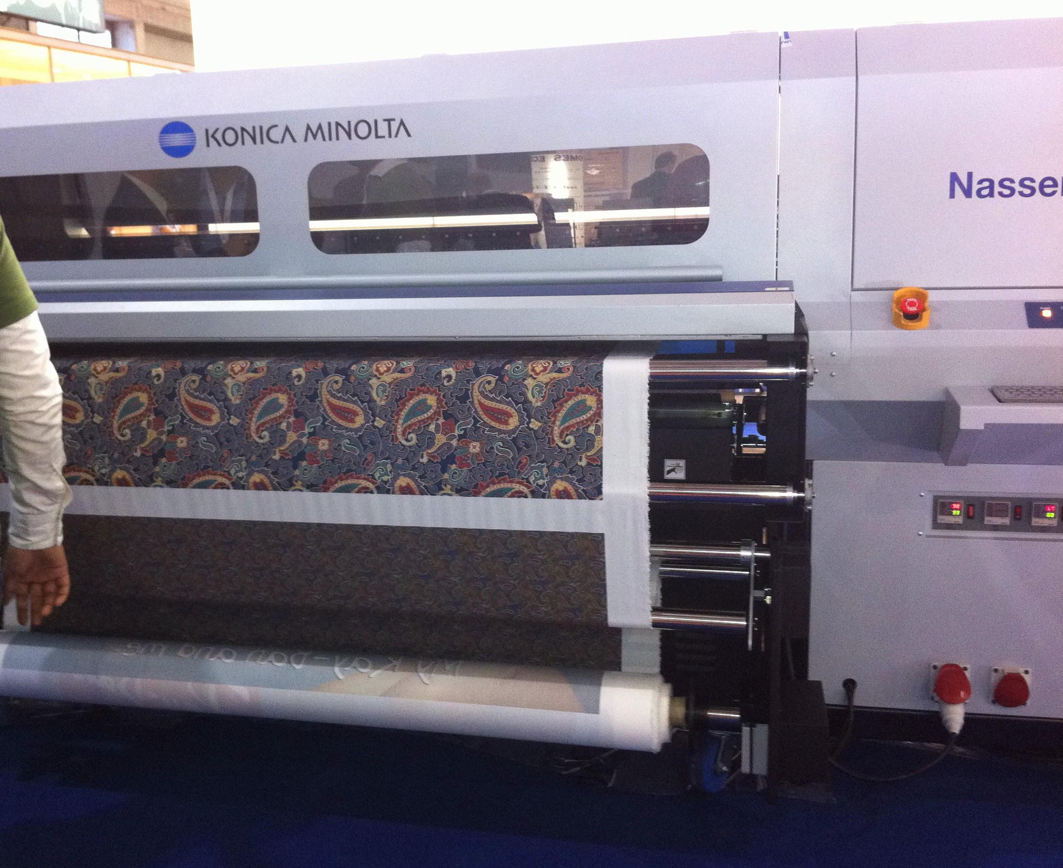 Impresión sobre tela de algodón, FESPA Fabrics 2012