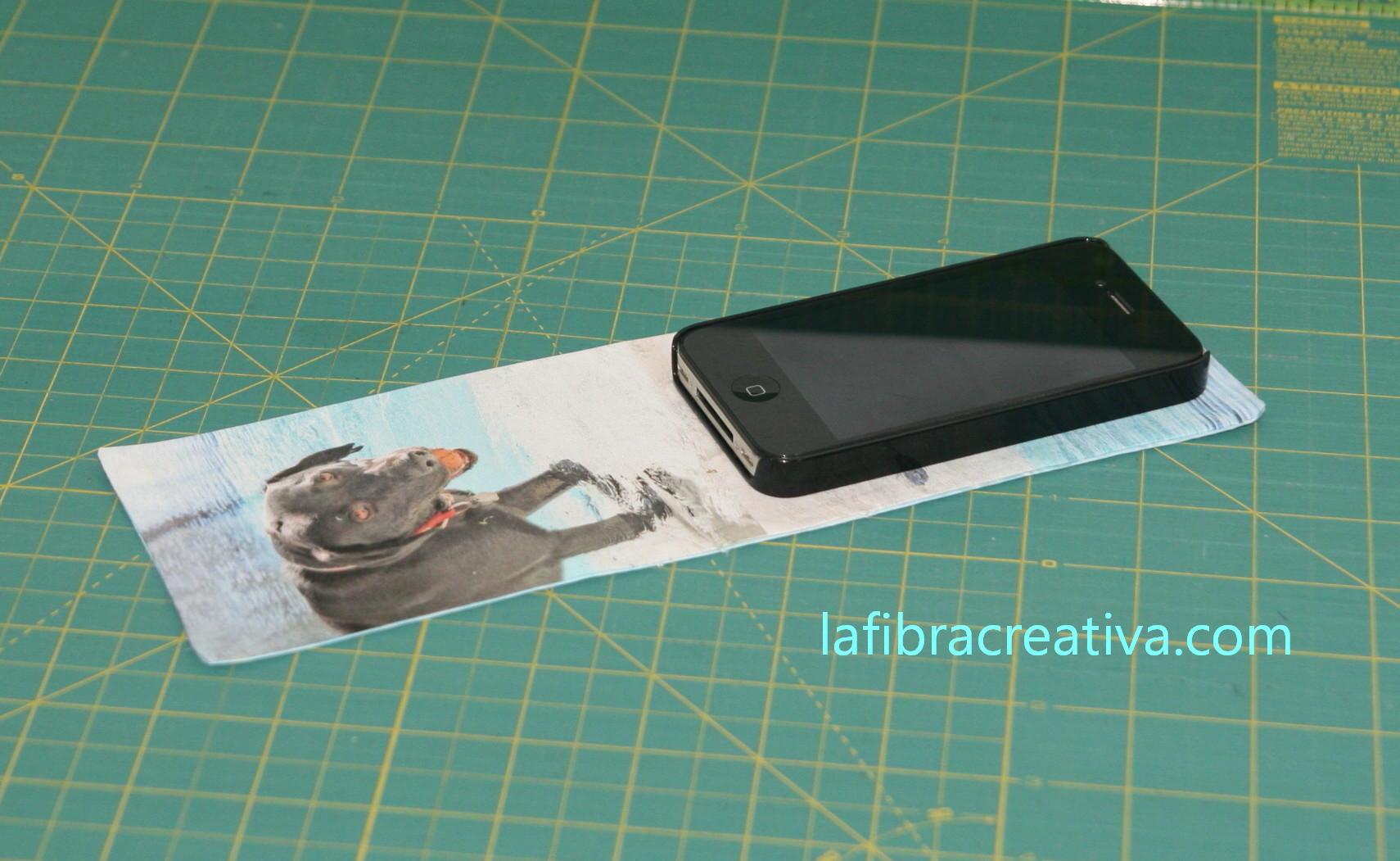 funda iPhone con fotos tutorial