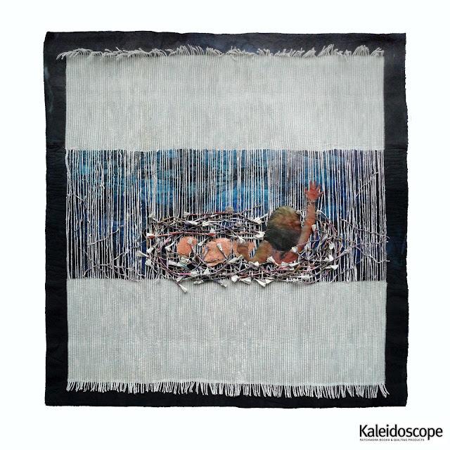 art quilt de Brigitte Kopp das nest