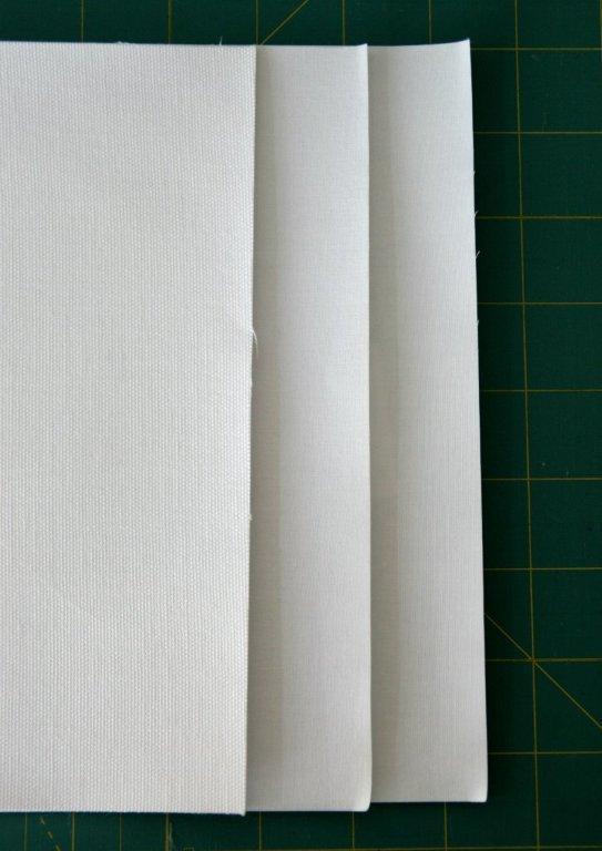 Hojas para imprimir sobre tela de algodón