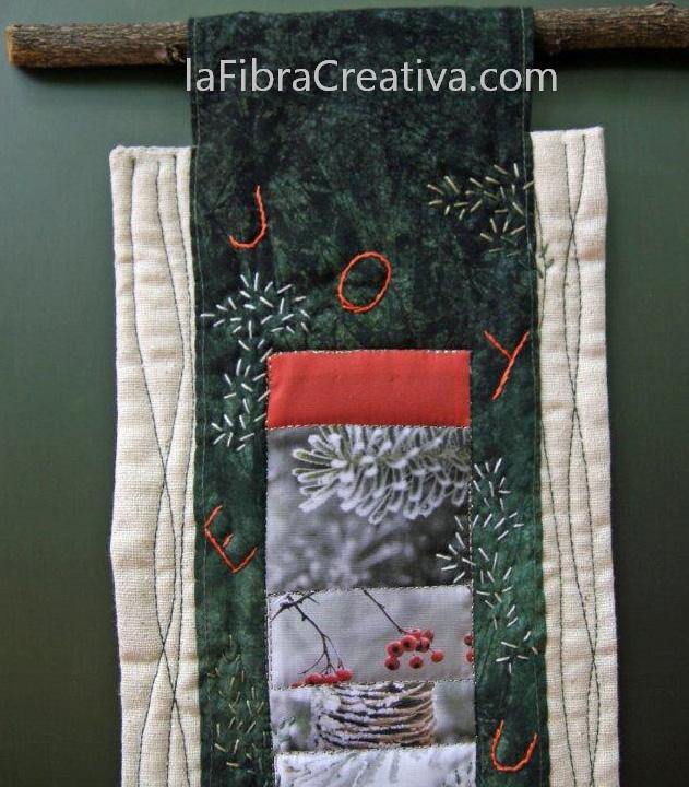 Kit de patchwork Navidad estilo contemporáneo