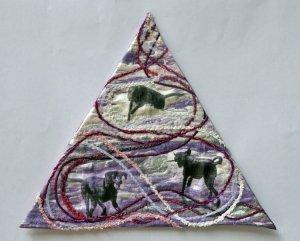 mini-quilt EQA Movement France Buyle