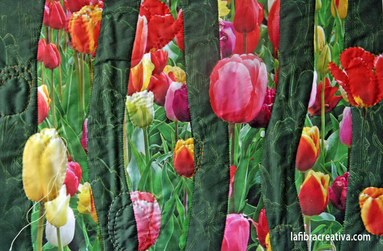 kit patchwork tulipanes