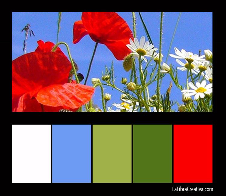 paleta de colores patchwork