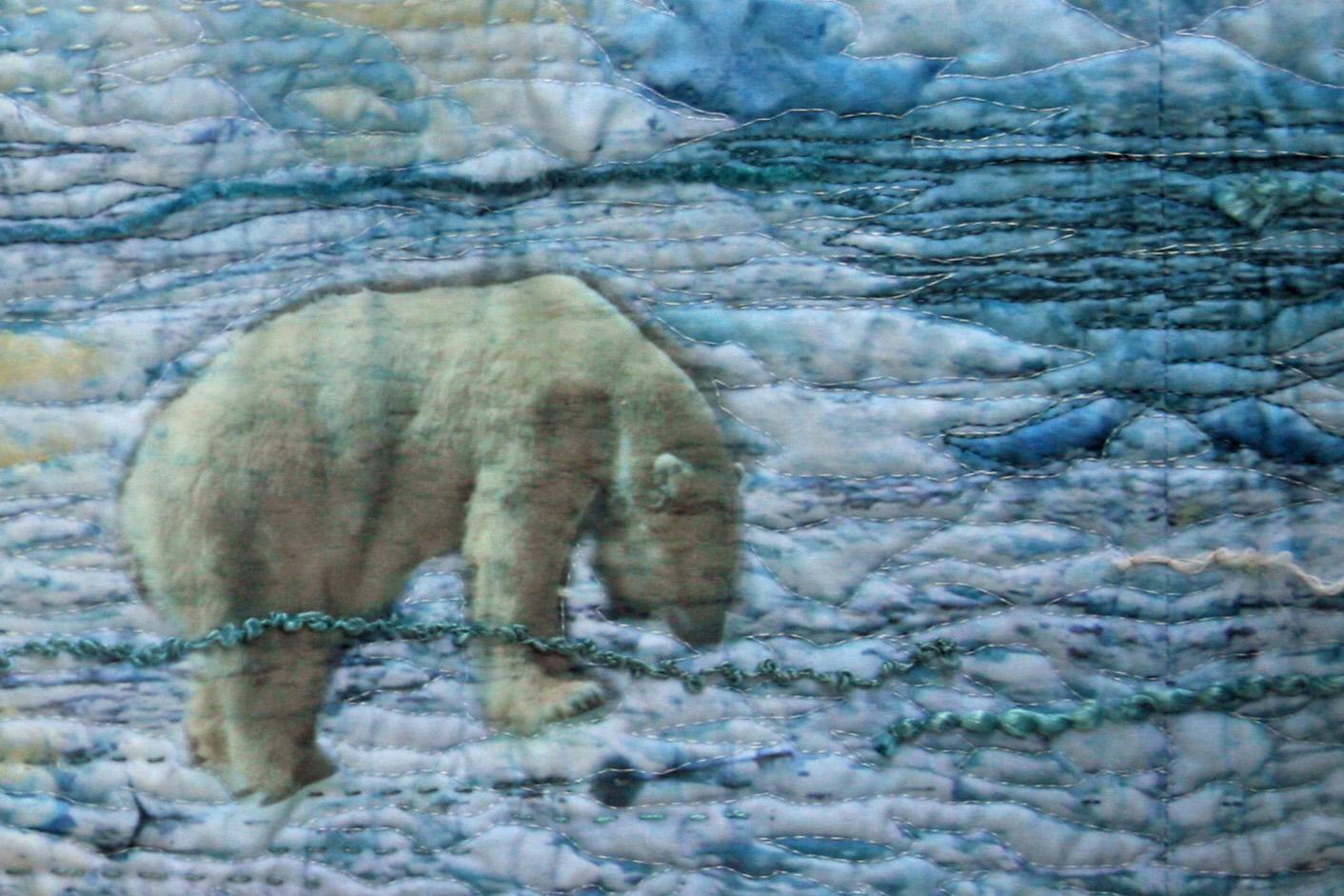 quilt Plus de glace France Buyle