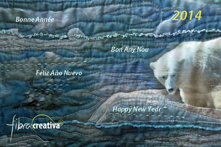 carte voeux quilt 2014
