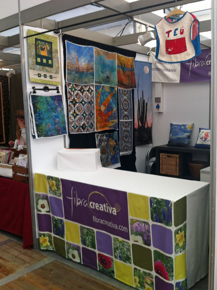 stand Fibra Creativa festival patchwork sitges 2014