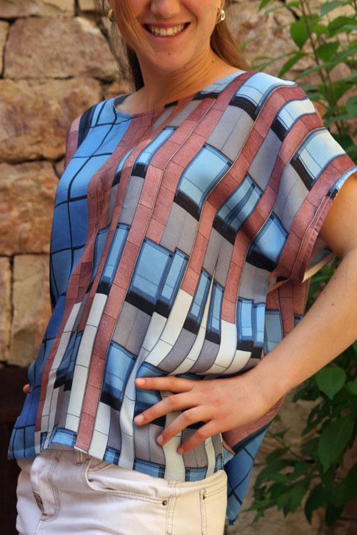 Moda original en seda, complementos, decoración