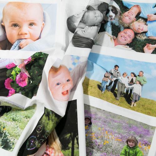 Panel de fotos en tela algodón