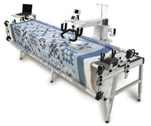 máquina alcolchado de brazo largo