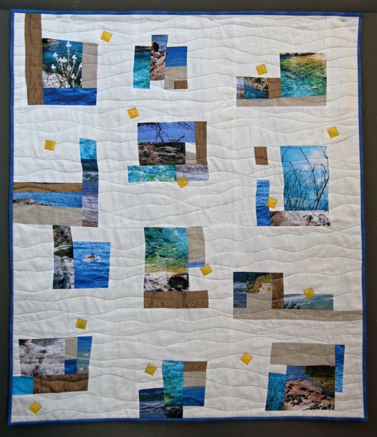 quilt de patchwork menorca