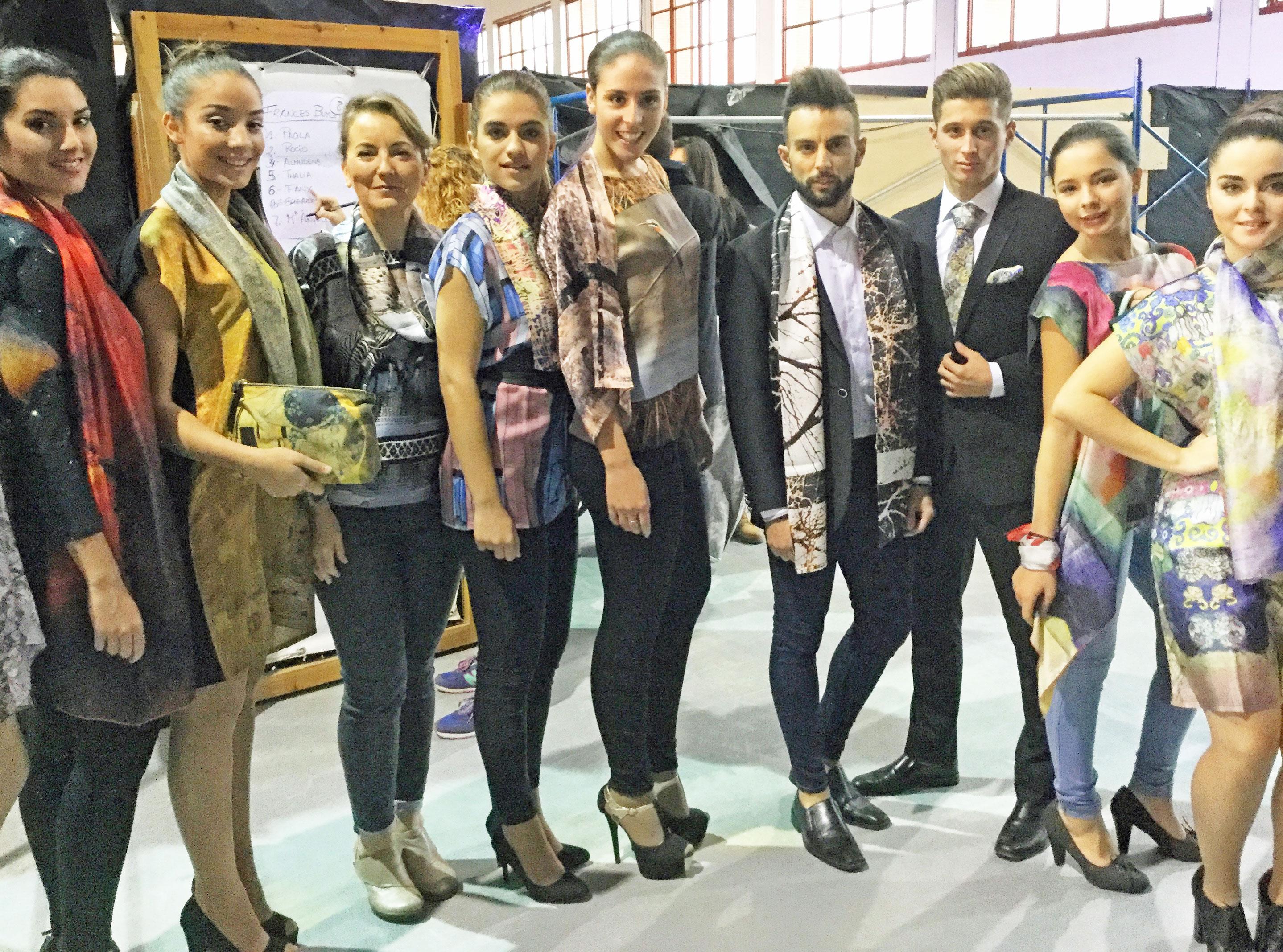 desfile de moda Fibra Craetiva en Crearte Granada
