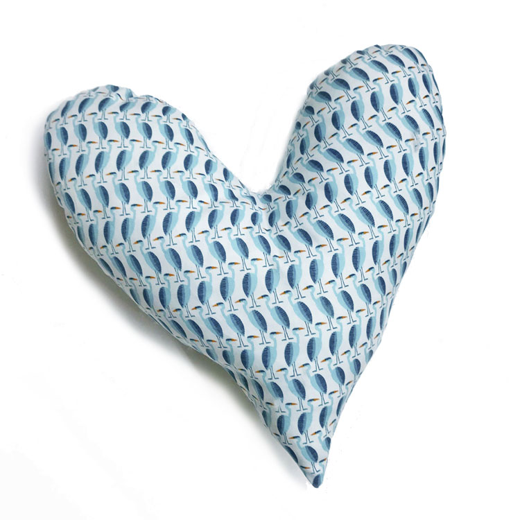 almohada corazón para operadas de cancer de mama